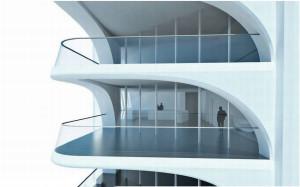 1000 Museum Miami Condo offers large balconies